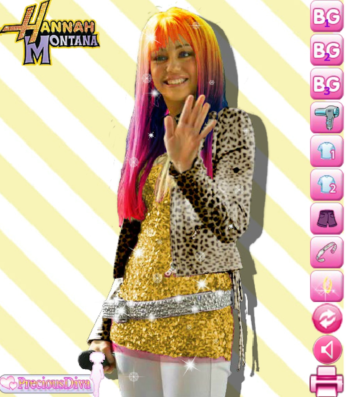 These throwback Disney Channel games to play online include a 'Hannah Montana' option.