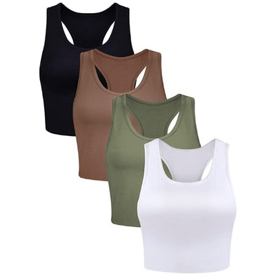 Boao Racerback Tank Top (4 Pack)