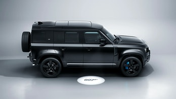 Land Rover is releasing a James Bond-edition of the Defender V8, to coincide with the upcoming film.