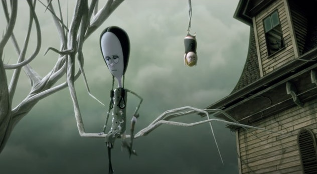'The Addams Family' is based on the cartoon by the same name.