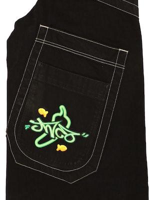 JNCO jeans x Goldfish jalapeño popper campaign