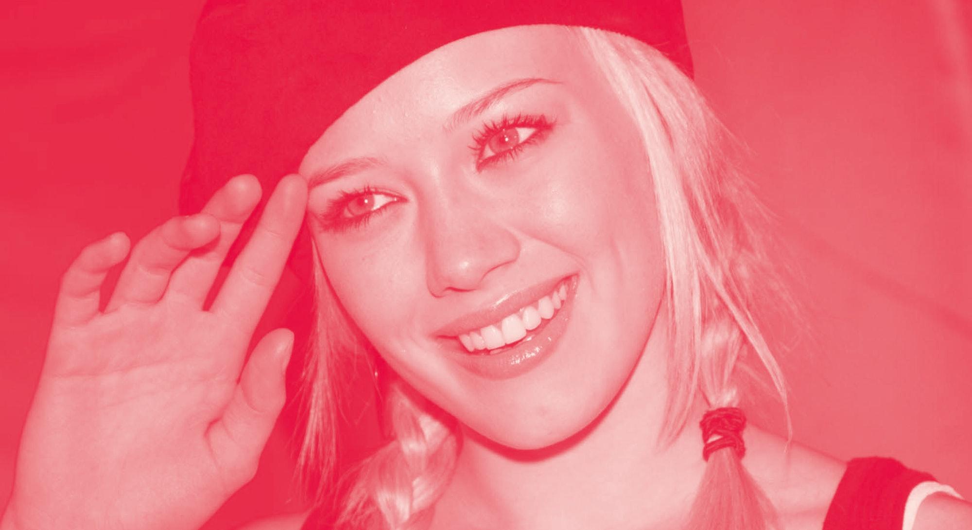 Hilary Duff in 2003.