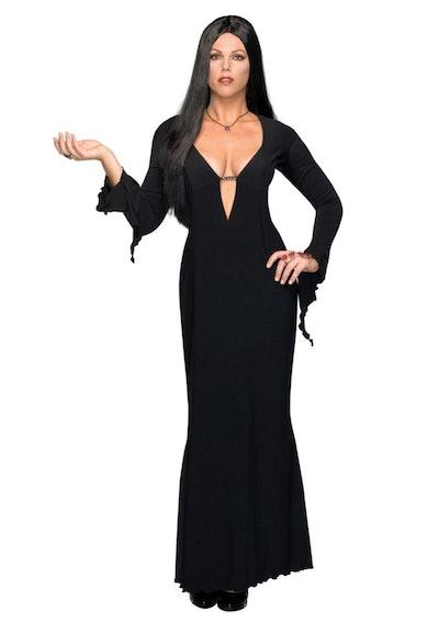 Plus Size Morticia Addams Costume