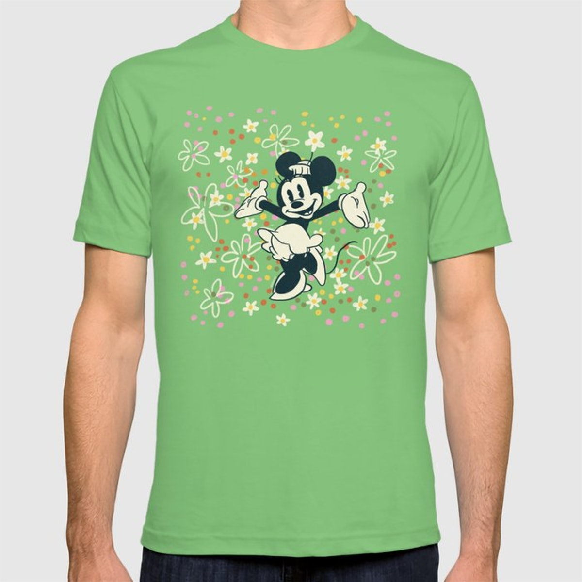 This Society6 x Disney Minnie Mouse Collection tee is perfect to wear to the Disney Parks.