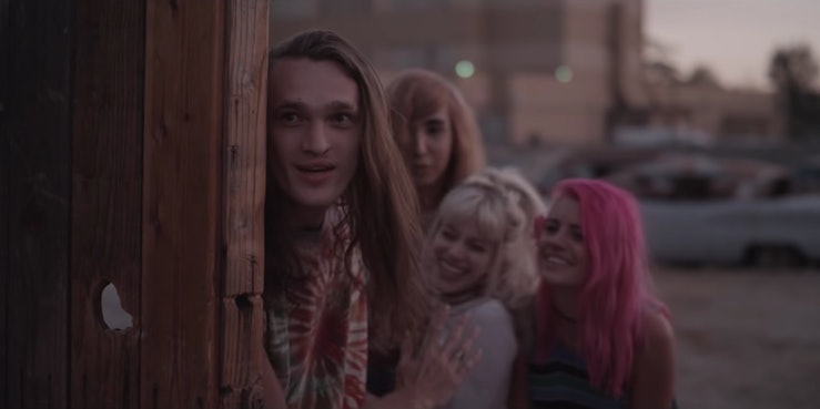 "A still from Halsey's ""Hurricane"" music video."
