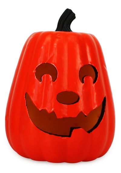 This halloween light-up pumpkin decoration is available for $5 at Five Below.