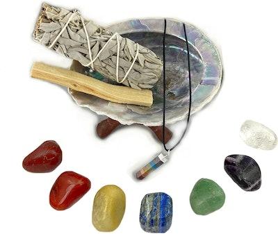 Chakra Palace Smudge Kit Gift Set