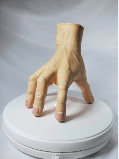 Thing Addams Family 3D Printed Hand Sculpture