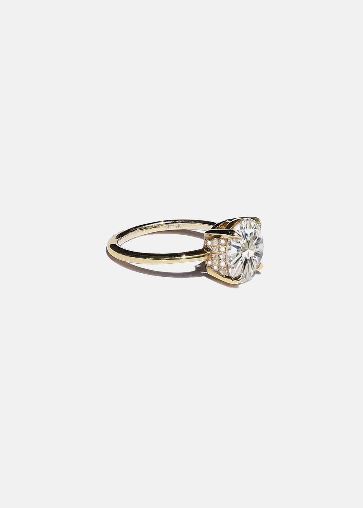 Cerré Solitaire engagement ring from KATKIM.