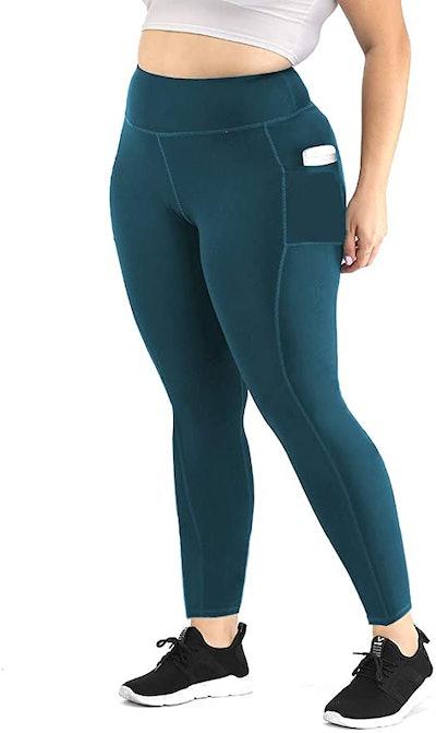 Uoohal High-Waisted Yoga Pants With Pockets