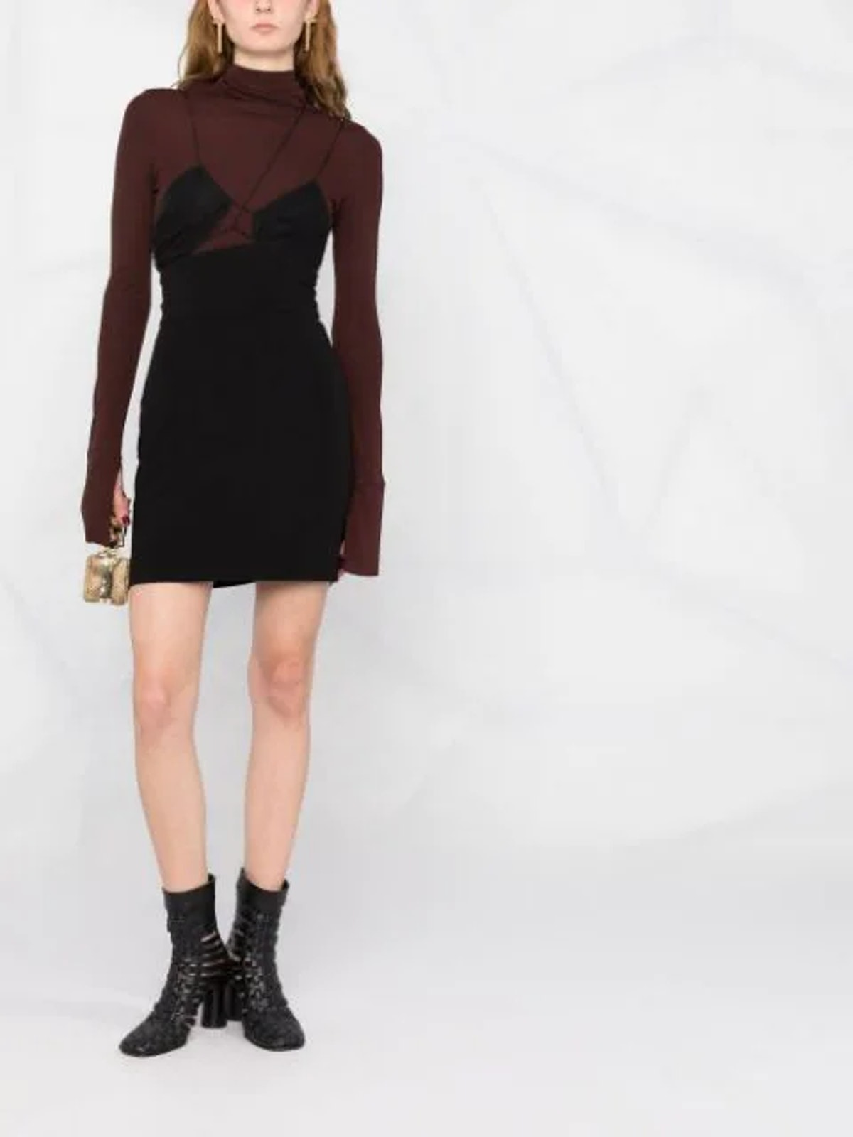 Camisole Mini Silk Dress