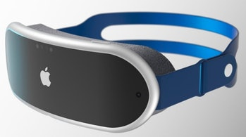 A render of what the Apple AR/VR headset may look like