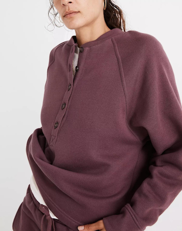 MWL Betterterry Henley Sweatshirt