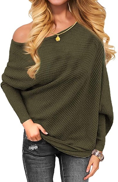OmicGot Off The Shoulder Sweater