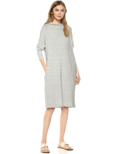 Daily Ritual Terry Funnel-Neck Dress