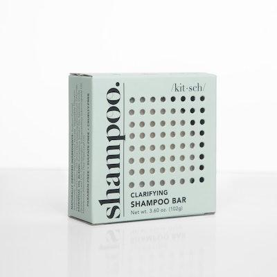 kitsch clarifying shampoo bar