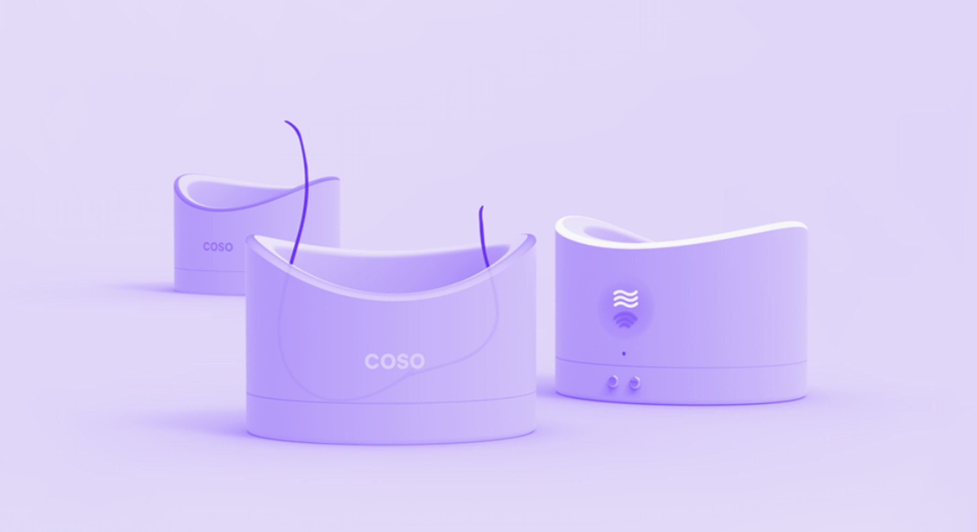 A concept contraceptive device called Coso that uses ultrasound waves to prevent sperm from regenera...