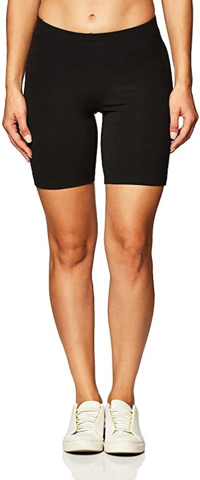 Hanes Stretch Jersey Bike Short