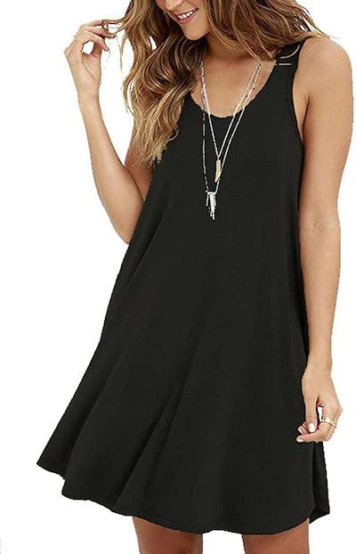 MOLERANI Casual Swing  T-Shirt Loose Dress