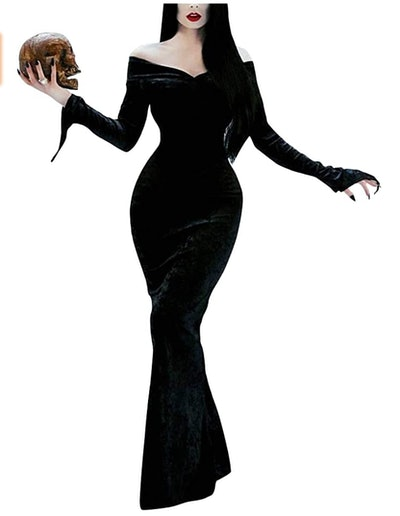 Morticia Addams Family costume