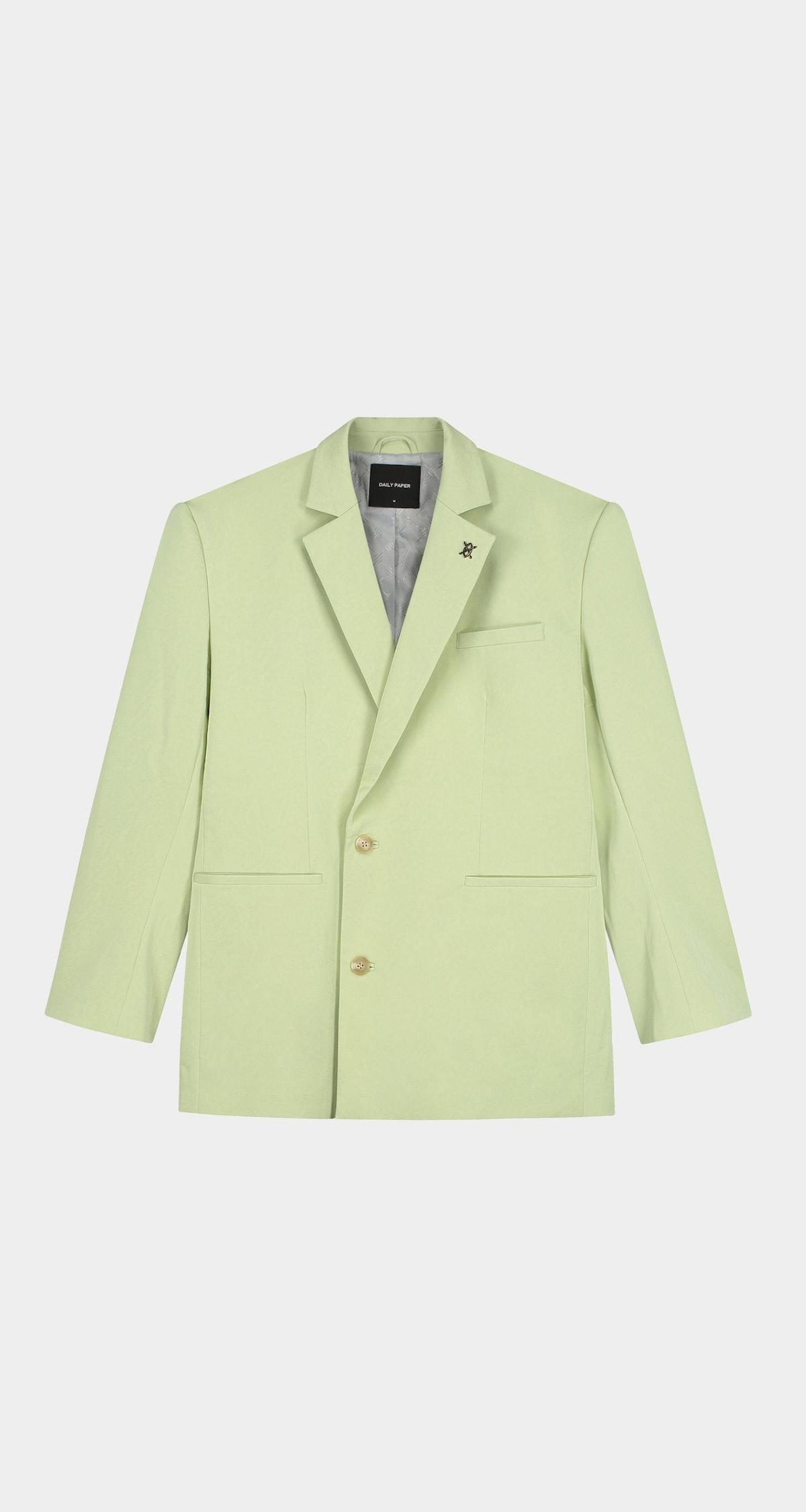 Pistache Green Laaziah Blazer