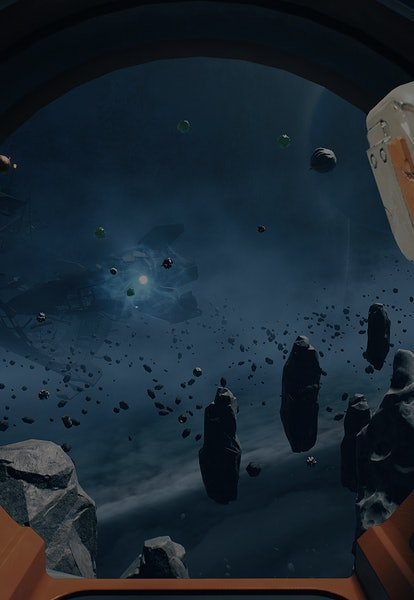 screenshot of space in Breathedge video game