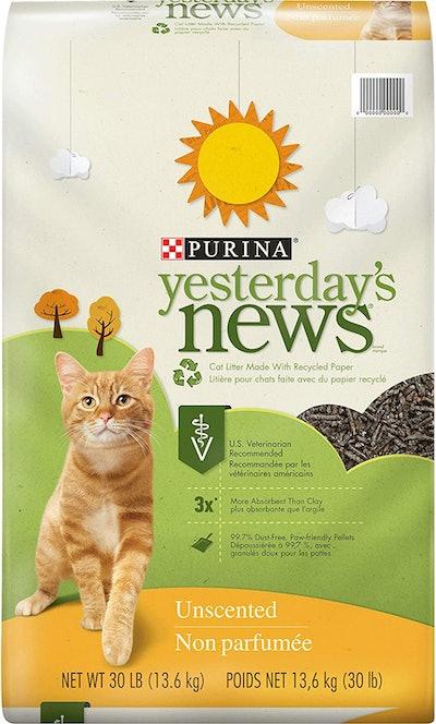 Purina Yesterday's News Paper Cat Litter, 30 Lbs.