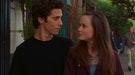 Rory Gilmore (Alexis Bledel) and Jess Mariano (Milo Ventimiglia) in a scene from 'Gilmore Girls.'