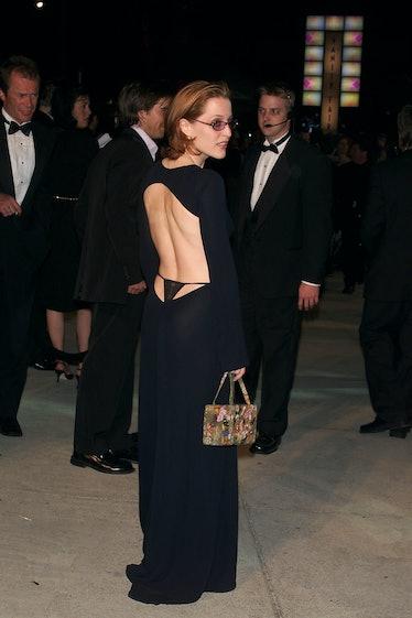Gillian Anderson's Thong Dress.