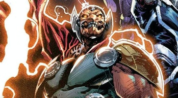 Beta Ray Bill smiling in Guardians of the Galaxy: The Prodigal Sun Vol. 1 #1