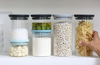 Brabantia Stackable Glass Food Storage Containers (3-Pack)