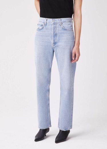 90's Mid-Ris Lloose Fit Jeans