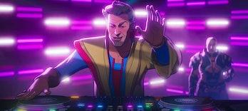 The Grandmaster DJing in What If? Season 1