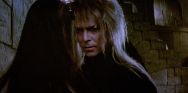 David Bowie stars in 'Labyrinth.'