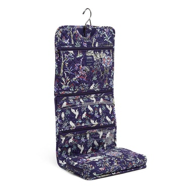 The Vera Bradley X 'Harry Potter' Forbidden Forest Collection features a hanging organizer.