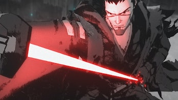 """star wars visions """"The Duel."""""""