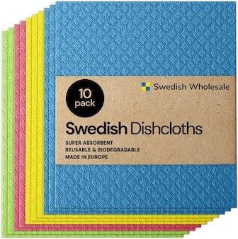 Swedish Wholesale Sponge Cloths (10 Pack)