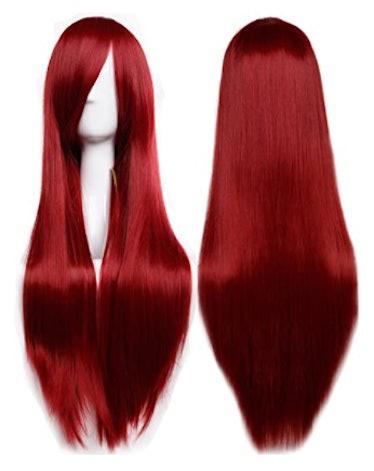 Wine Red Full Hair Wig