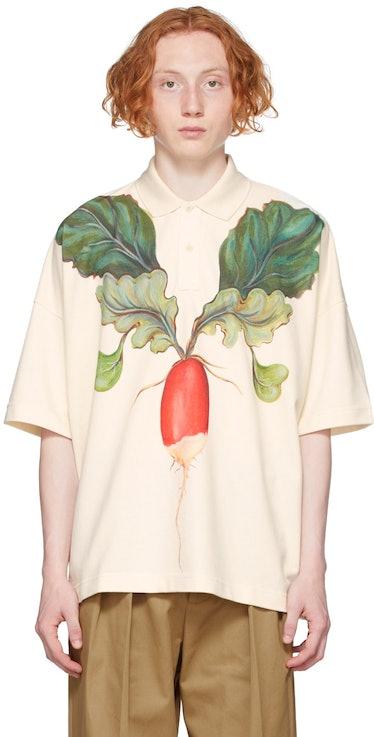 Off-White Oversized Veggie Polo