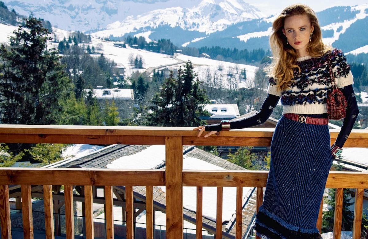 Chanel Fall/Winter 2021 campaign.