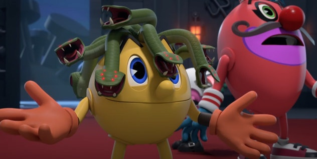 Pac's Scary Halloween is based on the Pacman game.