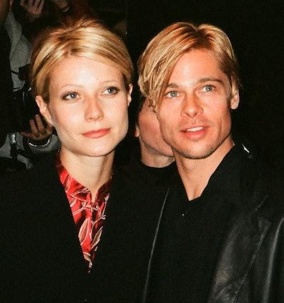 Gwyneth Paltrow and Brad Pitt in 1997.