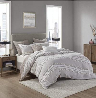 INK+IVY 100% Cotton Comforter Set, Full/Queen (3 Pieces)