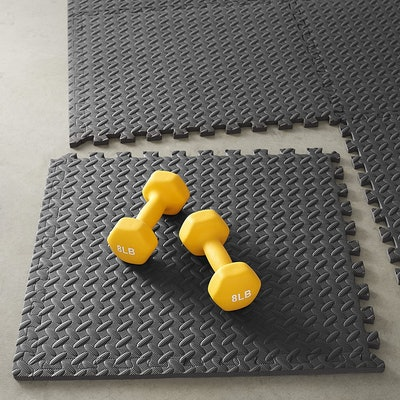 Amazon Basics Interlocking Foam Exercise Tiles