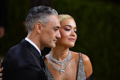 Taika Waititi and Rita Ora at the Met Gala