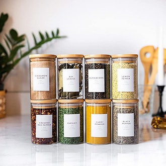 Savvy & Sorted Spice Labels (Set of 162)