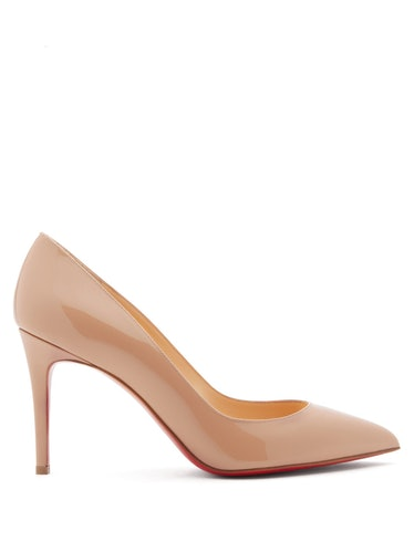 Pigalle 85 Patent-Leather Pumps Christian Louboutin