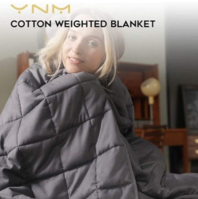 YnM Weighted Blanket (48 x 72 inches; 15 Lbs.)