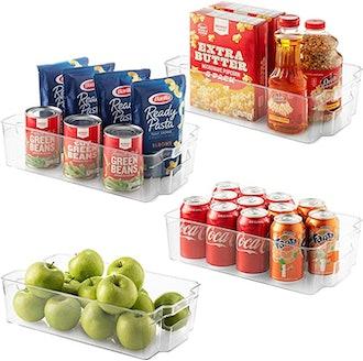 Seseno Refrigerator Organizer Bins (10-Piece)