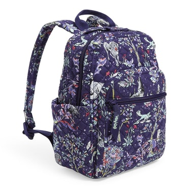 The Vera Bradley X 'Harry Potter' Forbidden Forest Collection has a backpack coming soon.